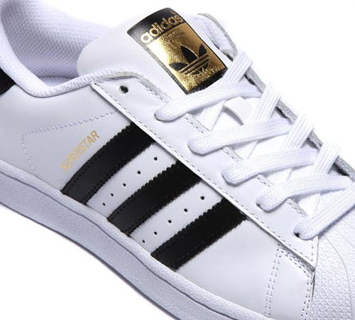 4139750271437 The upper features a full grain leather with textile lining for great  comfort and a soft cushion-like feel. adidas Original Superstar